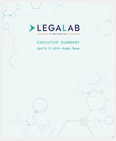 LP 2018 Legal Lab Executive Summary