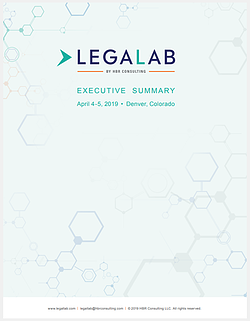 LP 2019 Legal Lab Exec Summary
