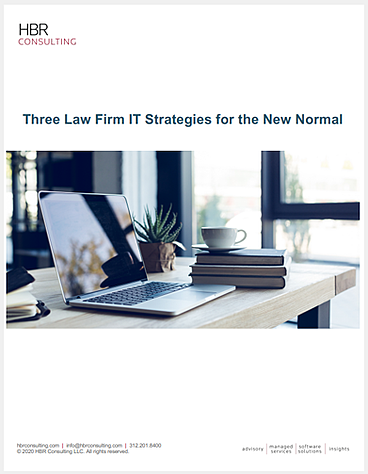 LP 2020 Law Firm IT Strategies for the New Normal White Paper