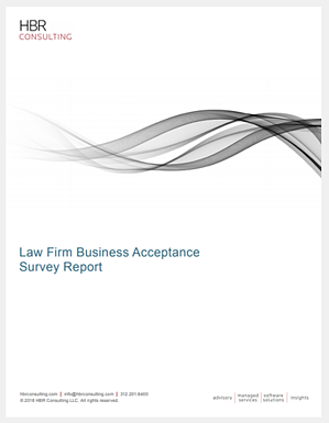 2018 HBR Consulting Law Firm Business Acceptance Survey Report Thumbnail